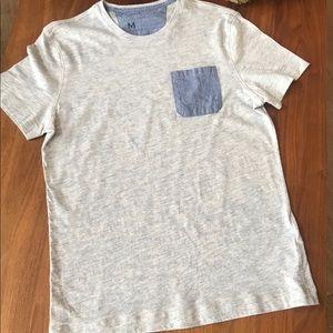 Banana Republic Mens blue cotton T-Shirt M